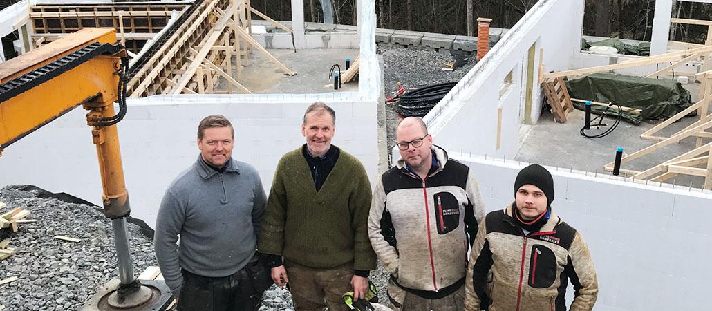 Murmester Torkild Erlandsen AS kundehistorie Bygglet